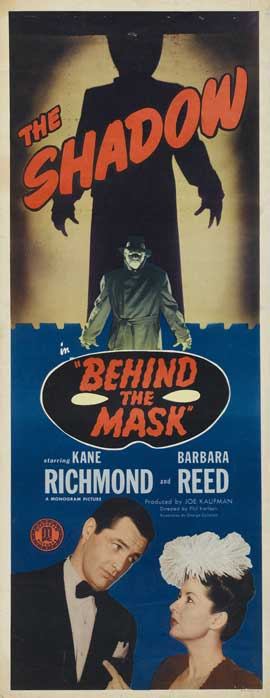 Behind the Mask - 14 x 36 Movie Poster - Insert Style A