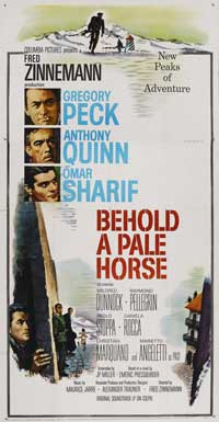 Behold a Pale Horse - 27 x 40 Movie Poster - Style D