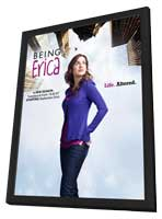 Being Erica - 11 x 17 Movie Poster - Canadian Style A - in Deluxe Wood Frame