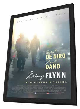 Being Flynn - 27 x 40 Movie Poster - Style A - in Deluxe Wood Frame