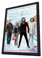Being Human (TV) - 11 x 17 TV Poster - Style A - in Deluxe Wood Frame