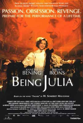 Being Julia - 11 x 17 Movie Poster - Style A