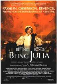 Being Julia - 43 x 62 Movie Poster - Bus Shelter Style A