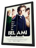 Bel Ami - 11 x 17 Movie Poster - Style A - in Deluxe Wood Frame