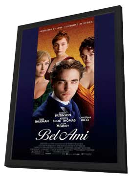 Bel Ami - 11 x 17 Movie Poster - Style B - in Deluxe Wood Frame