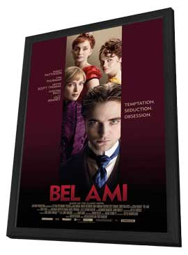 Bel Ami - 11 x 17 Movie Poster - Style C - in Deluxe Wood Frame