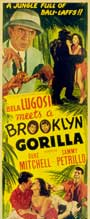 Bela Lugosi Meets a Brooklyn Gorilla - 11 x 14 Movie Poster - Style B