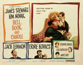 Bell, Book and Candle - 22 x 28 Movie Poster - Half Sheet Style A