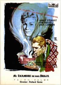 Bell, Book and Candle - 27 x 40 Movie Poster - French Style A