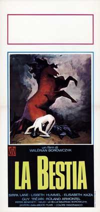 Bella e la bestia, La - 13 x 28 Movie Poster - Italian Style A