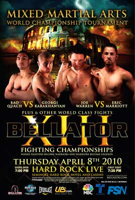 Bellator Fighting Championships (TV) - 11 x 17 TV Poster - Style A