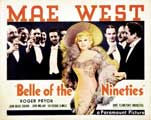 Belle of the Nineties - 22 x 28 Movie Poster - Style A
