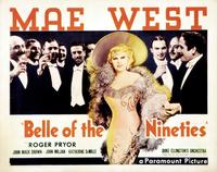 Belle of the Nineties - 11 x 14 Movie Poster - Style B