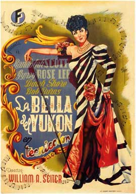 Belle of the Yukon - 11 x 17 Movie Poster - Spanish Style A