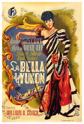 Belle of the Yukon - 27 x 40 Movie Poster - Spanish Style A