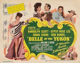 Belle of the Yukon - 11 x 14 Movie Poster - Style A
