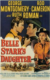 Belle Starr's Daughter - 11 x 17 Movie Poster - Style A