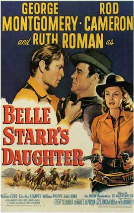 Belle Starr's Daughter - 27 x 40 Movie Poster - Style A