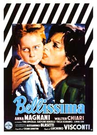 Bellissima - 11 x 17 Movie Poster - Italian Style A