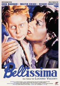 Bellissima - 11 x 17 Movie Poster - Greek Style A
