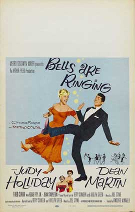 Bells Are Ringing - 11 x 17 Movie Poster - Style B