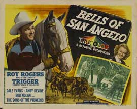 Bells of San Angelo - 11 x 14 Movie Poster - Style A