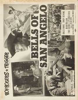 Bells of San Angelo - 11 x 14 Movie Poster - Style B
