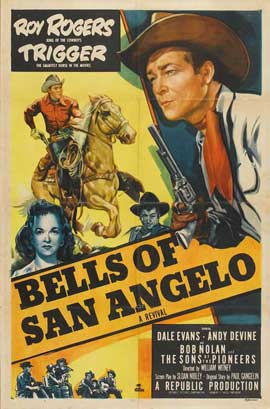 Bells of San Angelo - 11 x 17 Movie Poster - Style A