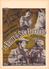 Bells of San Fernando - 27 x 40 Movie Poster - Belgian Style A