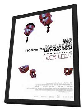 Belly - 11 x 17 Movie Poster - Style A - in Deluxe Wood Frame