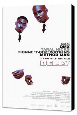 Belly - 11 x 17 Movie Poster - Style A - Museum Wrapped Canvas