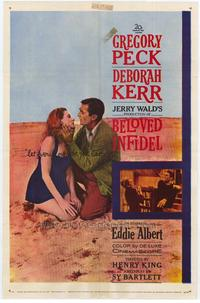 Beloved Infidel - 43 x 62 Movie Poster - Bus Shelter Style A