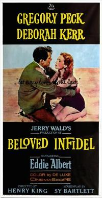 Beloved Infidel - 14 x 36 Movie Poster - Insert Style A