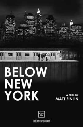 Below New York - 43 x 62 Movie Poster - Bus Shelter Style A