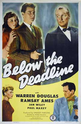 Below the Deadline - 27 x 40 Movie Poster - Style A