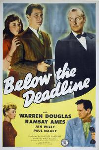 Below the Deadline - 43 x 62 Movie Poster - Bus Shelter Style A