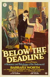 Below the Deadline - 11 x 17 Movie Poster - Style C