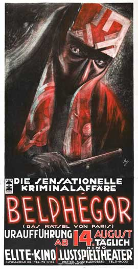 Belphegor ou Le fantome du Louvre - 27 x 40 Movie Poster - French Style A