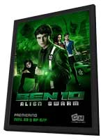 Ben 10: Race Against Time (TV) - 11 x 17 TV Poster - Style B - in Deluxe Wood Frame