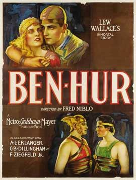 Ben-Hur - 27 x 40 Movie Poster - Style C