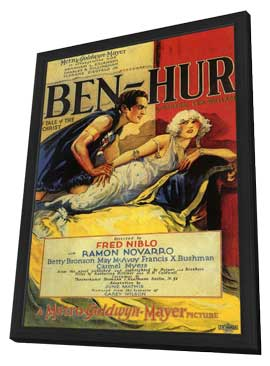Ben-Hur - 11 x 17 Movie Poster - Style A - in Deluxe Wood Frame
