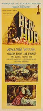 Ben-Hur - 14 x 36 Movie Poster - Insert Style B