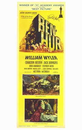 Ben-Hur - 11 x 17 Movie Poster - Style C