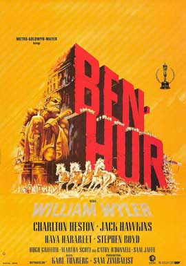 Ben-Hur - 11 x 17 Movie Poster - German Style B