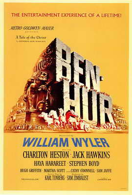 Ben-Hur - 27 x 40 Movie Poster - Style A