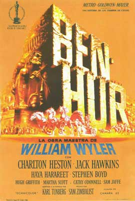 Ben-Hur - 27 x 40 Movie Poster - Spanish Style A