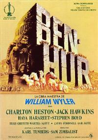 Ben-Hur - 27 x 40 Movie Poster - Spanish Style B