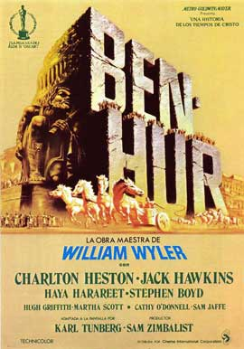 Ben-Hur - 11 x 17 Movie Poster - Spanish Style B
