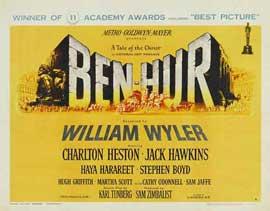 Ben-Hur - 22 x 28 Movie Poster - Half Sheet Style A