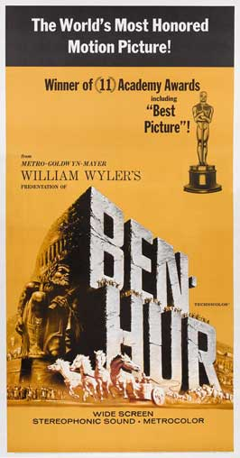 Ben-Hur - 20 x 40 Movie Poster - Style A